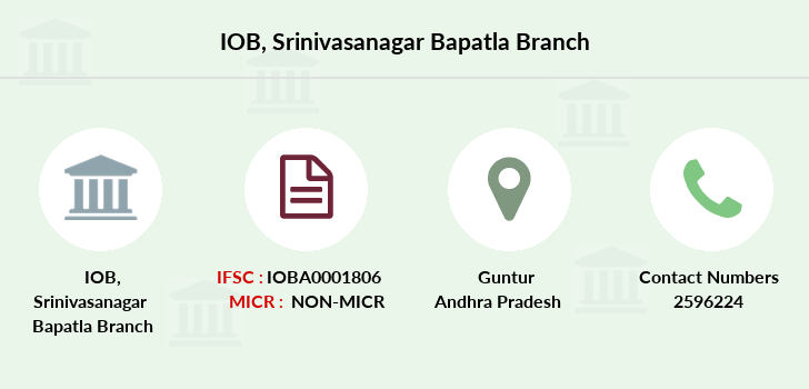 Indian-overseas-bank Srinivasanagar-bapatla branch