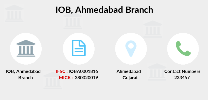 Indian-overseas-bank Ahmedabad branch