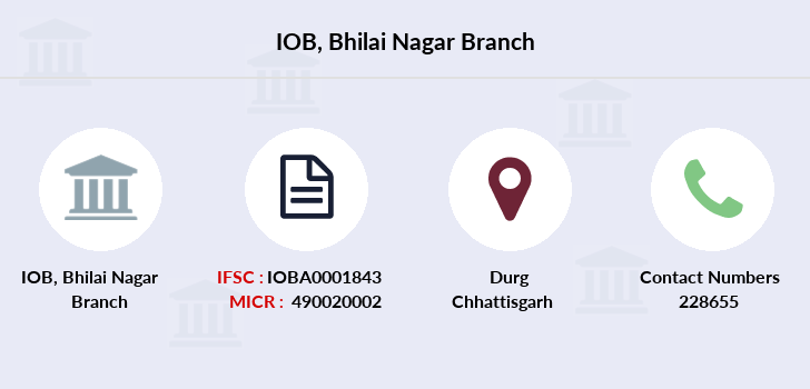 Indian-overseas-bank Bhilai-nagar branch