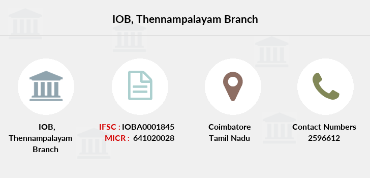 Indian-overseas-bank Thennampalayam branch