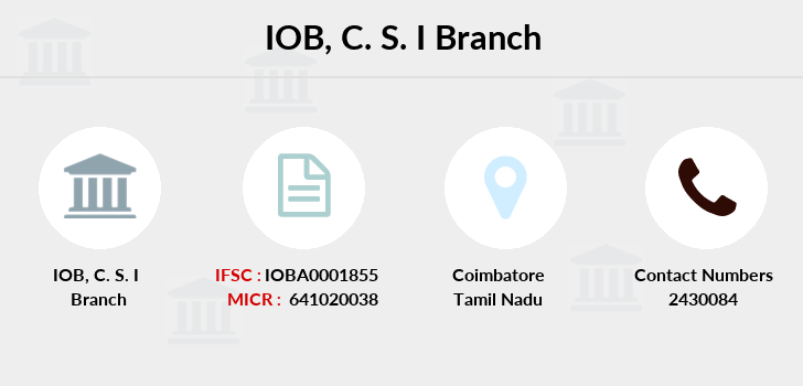 Indian-overseas-bank C-s-i branch