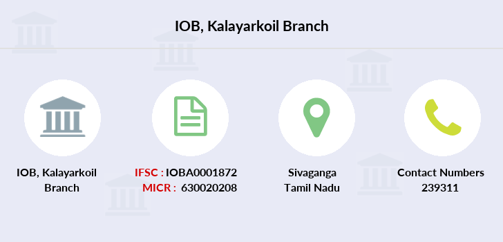 Indian-overseas-bank Kalayarkoil branch