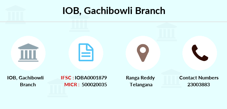 Indian-overseas-bank Gachibowli branch