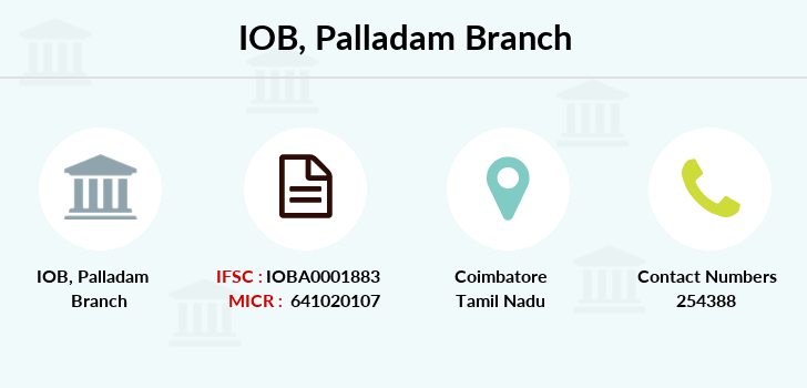 Indian-overseas-bank Palladam branch