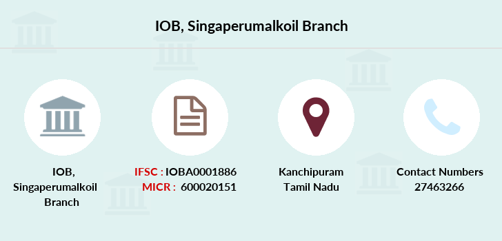 Indian-overseas-bank Singaperumalkoil branch