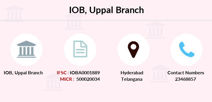 Indian-overseas-bank Uppal branch