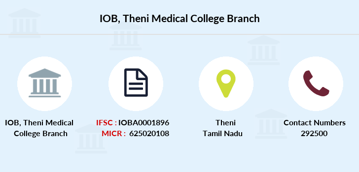 Indian-overseas-bank Theni-medical-college branch