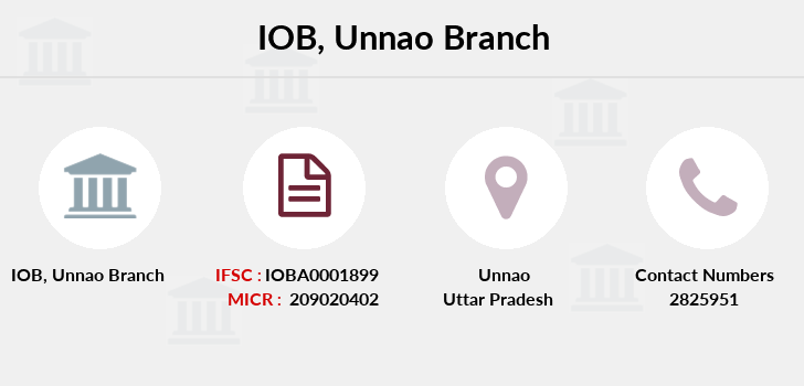 Indian-overseas-bank Unnao branch