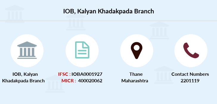 Indian-overseas-bank Kalyan-khadakpada branch