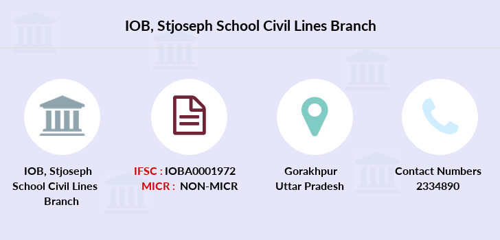 Indian-overseas-bank Stjoseph-school-civil-lines branch