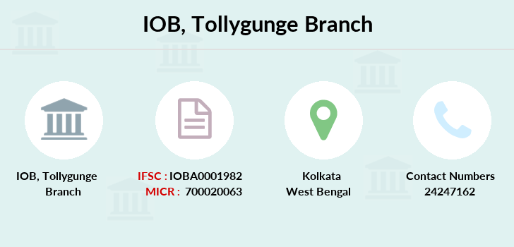Indian-overseas-bank Tollygunge branch
