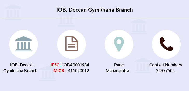 Indian-overseas-bank Deccan-gymkhana branch