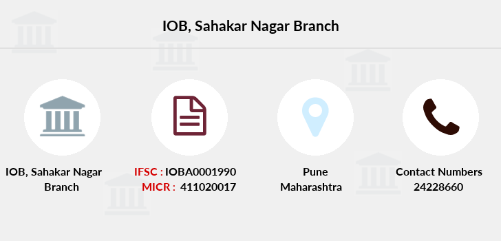Indian-overseas-bank Sahakar-nagar branch