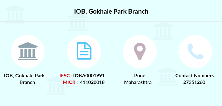 Indian-overseas-bank Gokhale-park branch