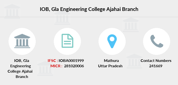 Indian-overseas-bank Gla-engineering-college-ajahai branch