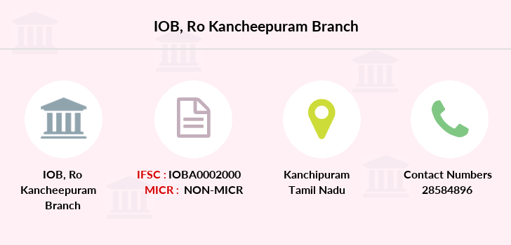 Indian-overseas-bank Ro-kancheepuram branch