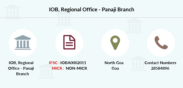 Indian-overseas-bank Regional-office-panaji branch
