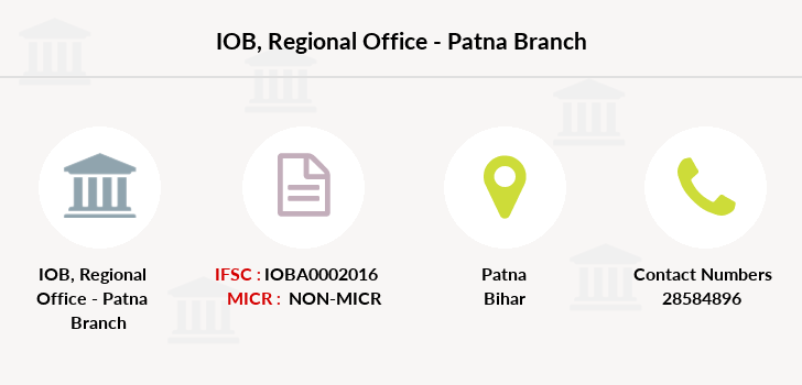 Indian-overseas-bank Regional-office-patna branch