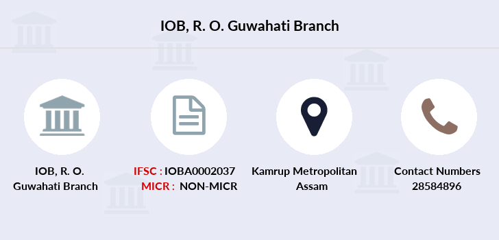 Indian-overseas-bank R-o-guwahati branch