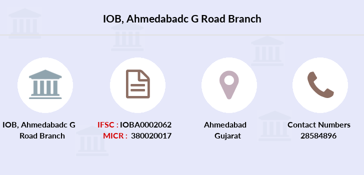 Indian-overseas-bank Ahmedabadc-g-road branch