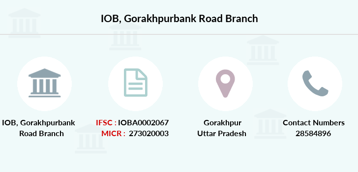 Indian-overseas-bank Gorakhpurbank-road branch