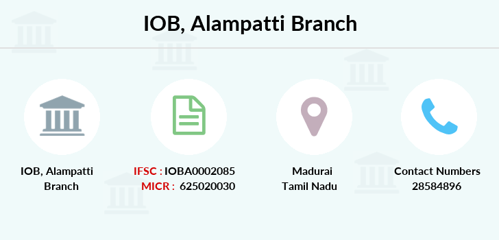 Indian-overseas-bank Alampatti branch
