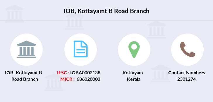 Indian-overseas-bank Kottayamt-b-road branch