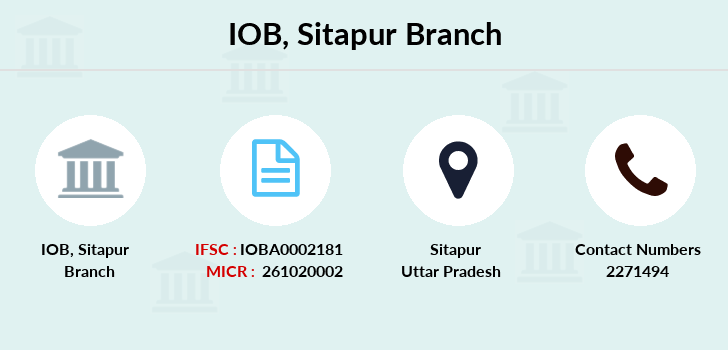 Indian-overseas-bank Sitapur branch