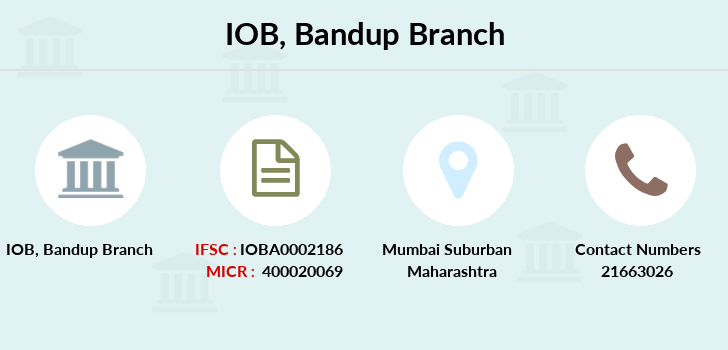 Indian-overseas-bank Bandup branch