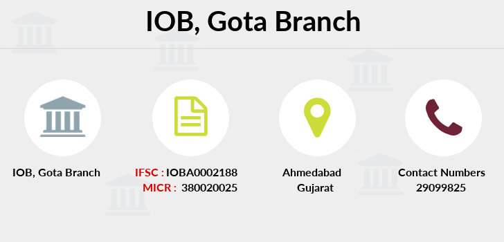 Indian-overseas-bank Gota branch