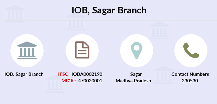 Indian-overseas-bank Sagar branch