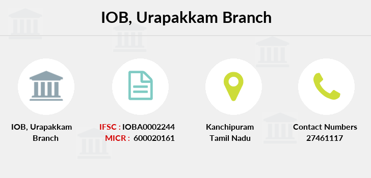 Indian-overseas-bank Urapakkam branch