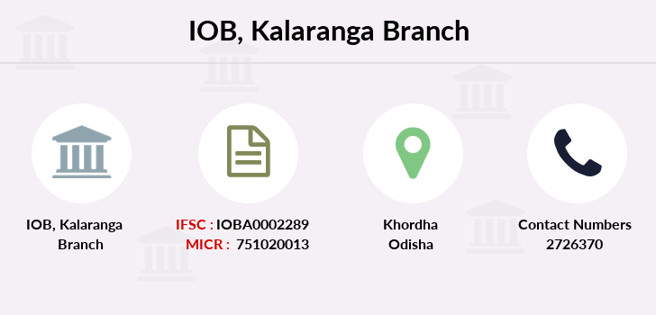 Indian-overseas-bank Kalaranga branch