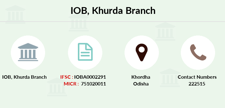 Indian-overseas-bank Khurda branch