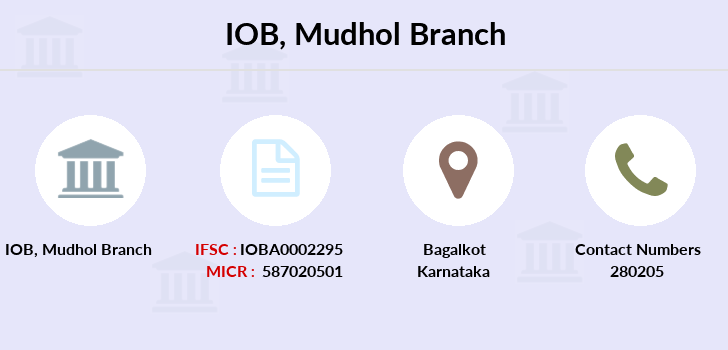 Indian-overseas-bank Mudhol branch