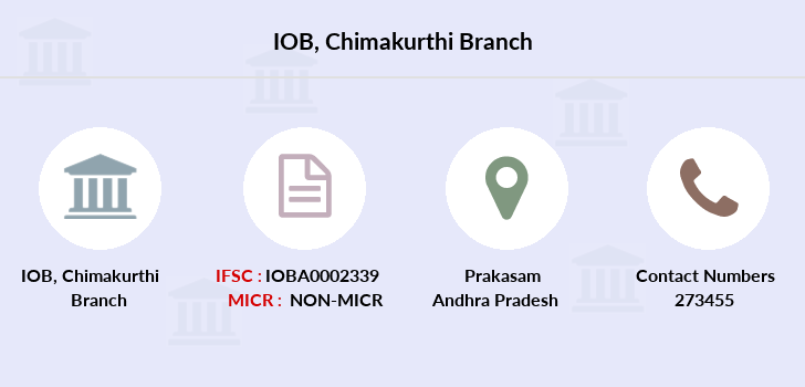 Indian-overseas-bank Chimakurthi branch