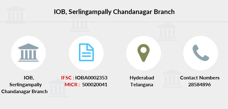 Indian-overseas-bank Serlingampally-chandanagar branch