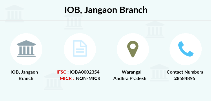 Indian-overseas-bank Jangaon branch