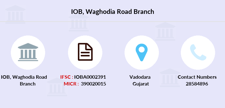 Indian-overseas-bank Waghodia-road branch