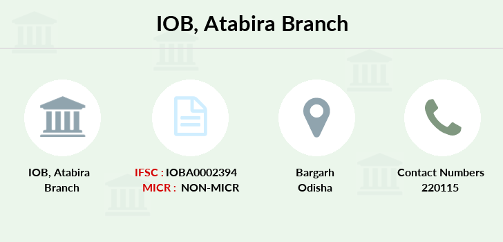Indian-overseas-bank Atabira branch