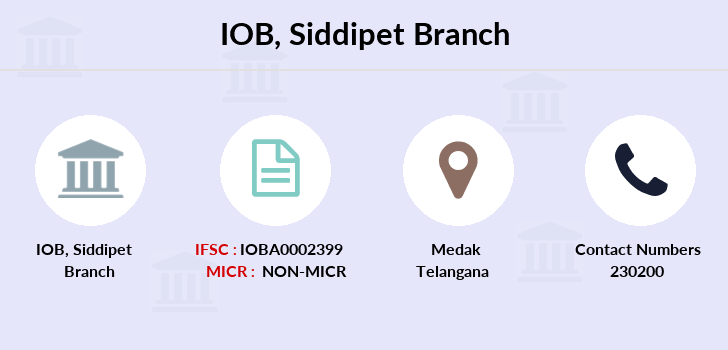 Indian-overseas-bank Siddipet branch