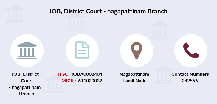 Indian-overseas-bank District-court-nagapattinam branch