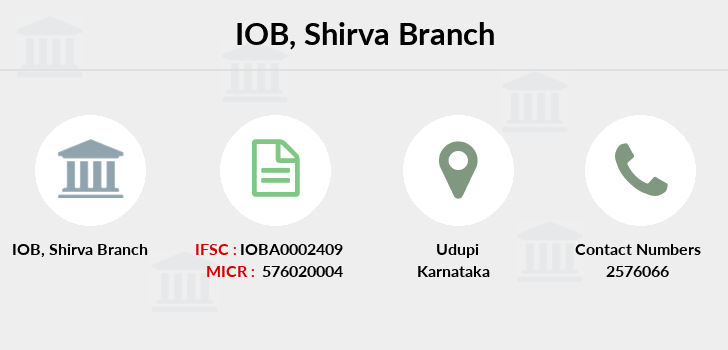 Indian-overseas-bank Shirva branch