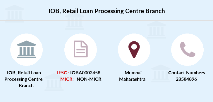 Indian-overseas-bank Retail-loan-processing-centre branch
