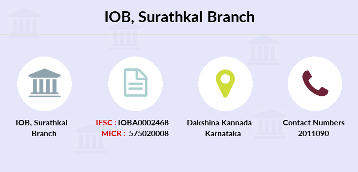 Indian-overseas-bank Surathkal branch