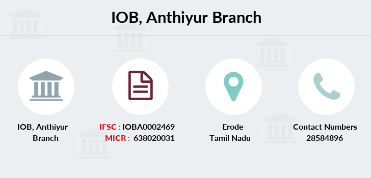 Indian-overseas-bank Anthiyur branch