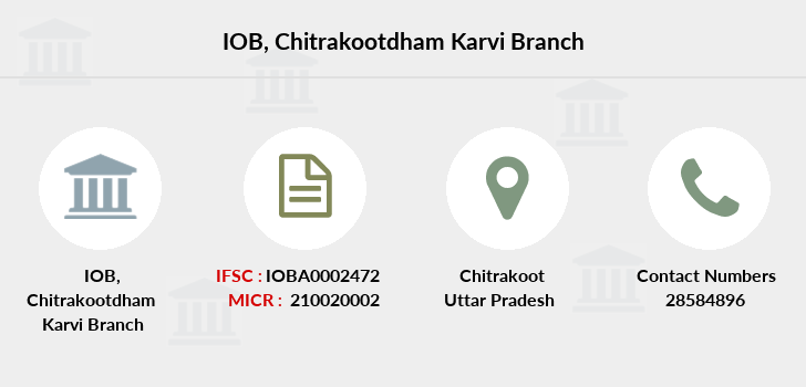 Indian-overseas-bank Chitrakootdham-karvi branch