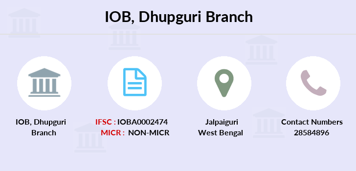Indian-overseas-bank Dhupguri branch
