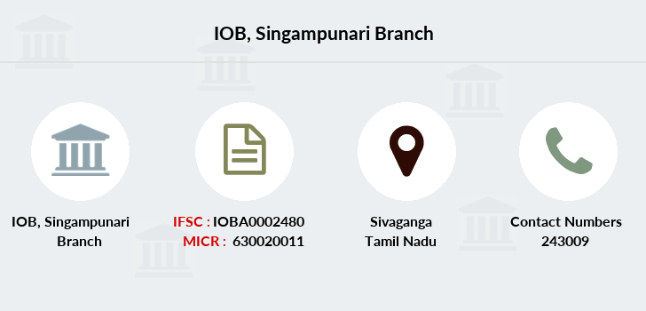 Indian-overseas-bank Singampunari branch