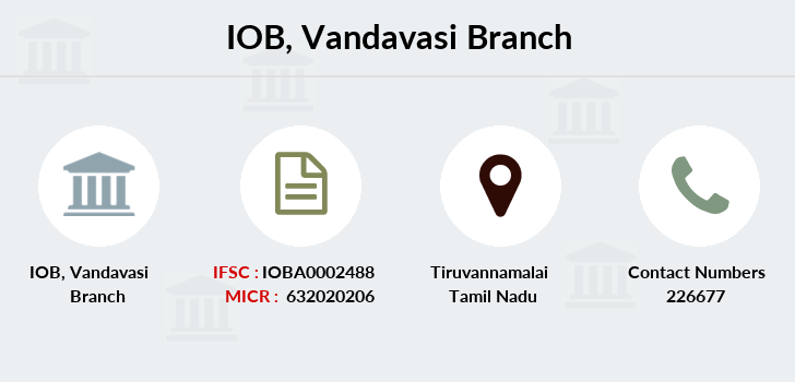 Indian-overseas-bank Vandavasi branch